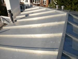 Zinken dakwerk Den Haag